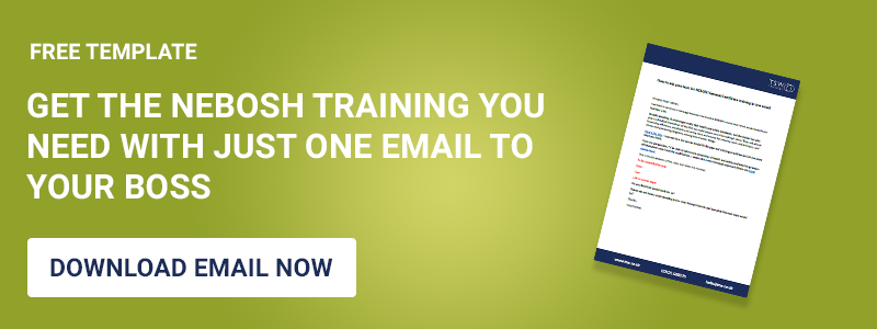NEBOSH email template
